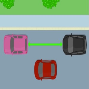 Parallel Parking Step 1