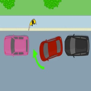 parallel parking step 8