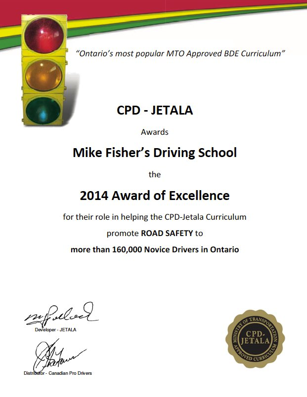 Award Winning Driver Training Curriculum for Driving Schools