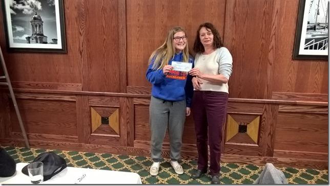 Morgan Clapp mikefishersdrivingschool.com 2015 christmas draw winner